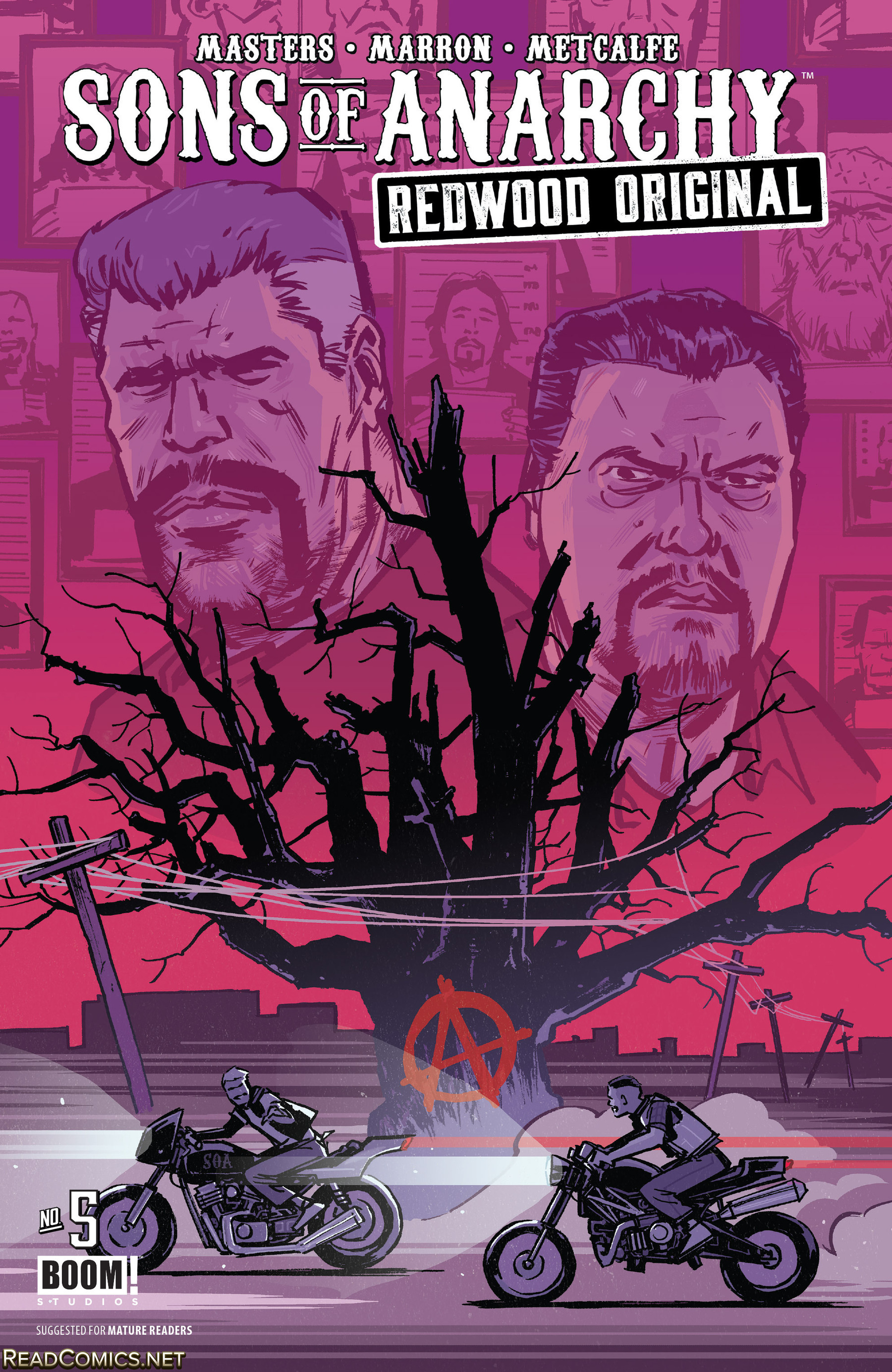 Review: Sons of Anarchy Redwood Original #5
