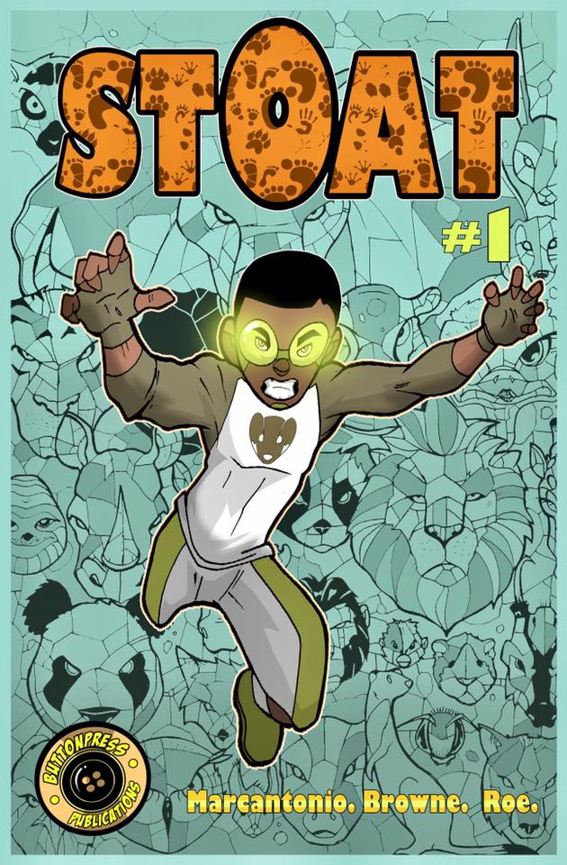 New Stoat Cover For K-Con