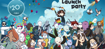 Launch Party – The Webcomics Anthology campaign now live on KickStarter