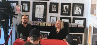 Review: Chrissy Williams and Kieron Gillen 'DIE' signing and talk at Big Bang Comics.