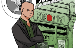 Subterranean City (Robert Curley) Dues (Or How I Came To Love Irish Comics)